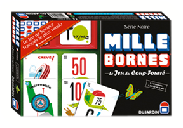 Mille bornes luxe tf1 games jeux dujardin for Dujardin 41299 chrono bomb night version