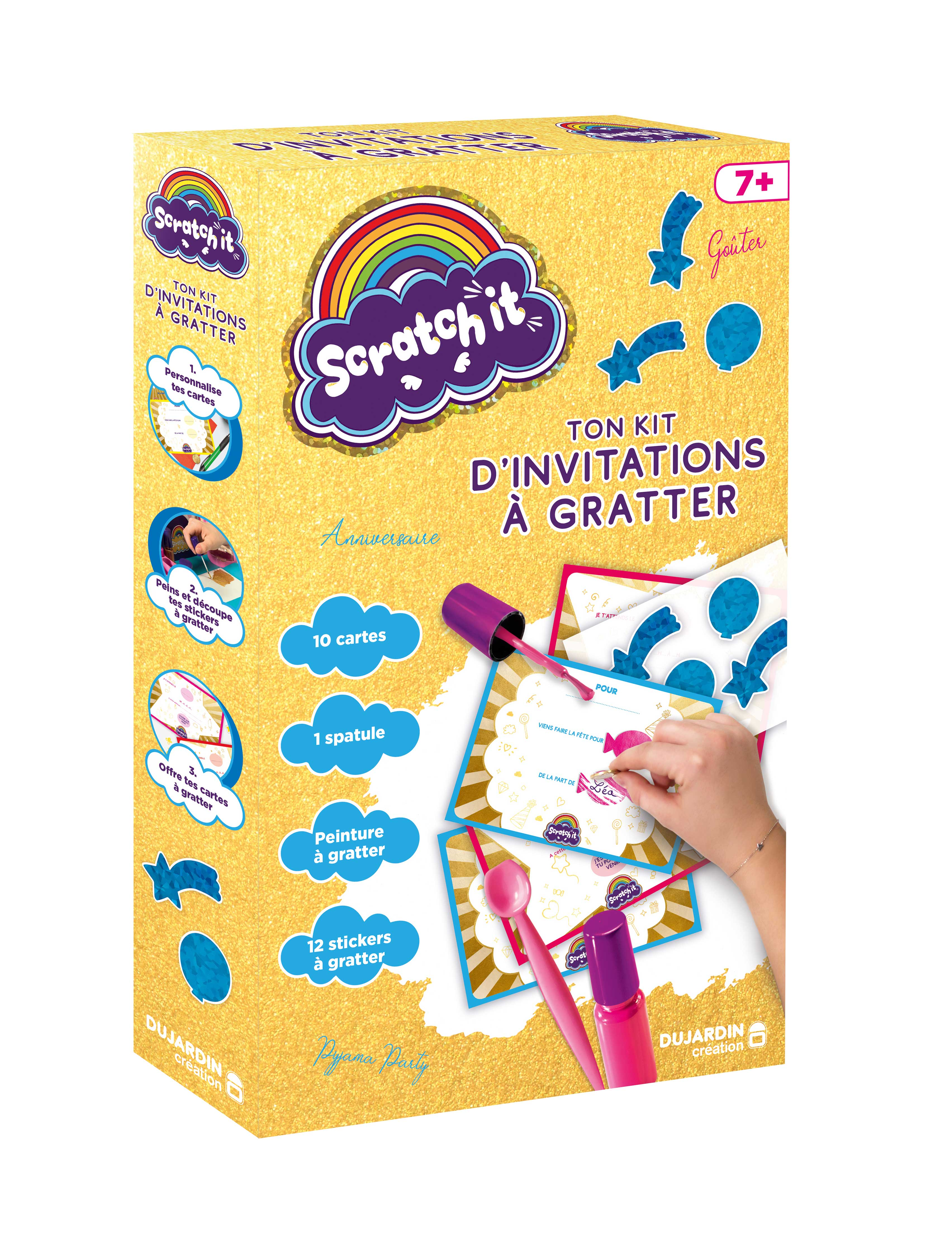Scratch It : le kit invitation