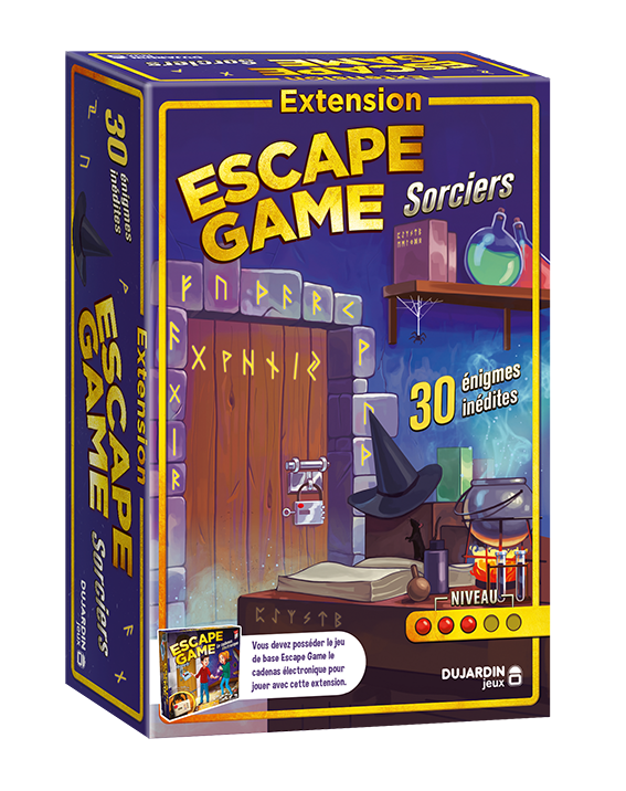 Extension Escape Game Sorcier