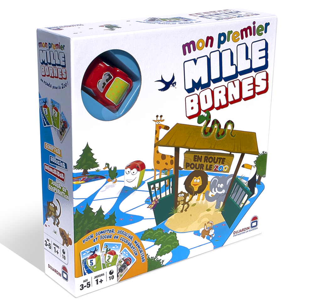 Packaging Mon premier Mille Bornes