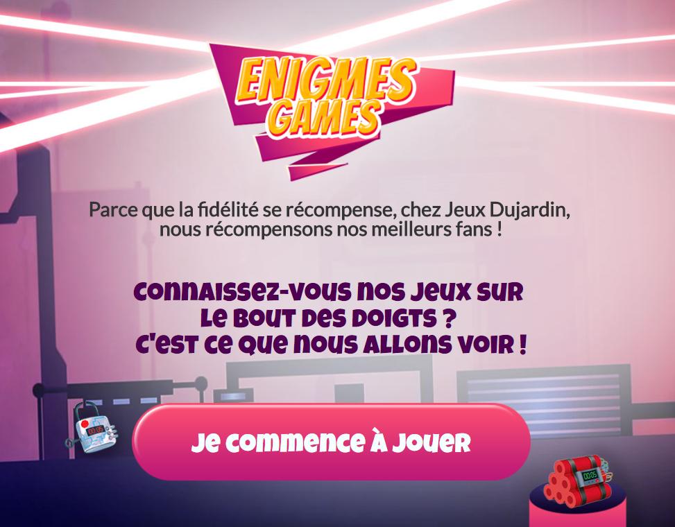 Jeux concours jeux dujardin for Entreprise dujardin