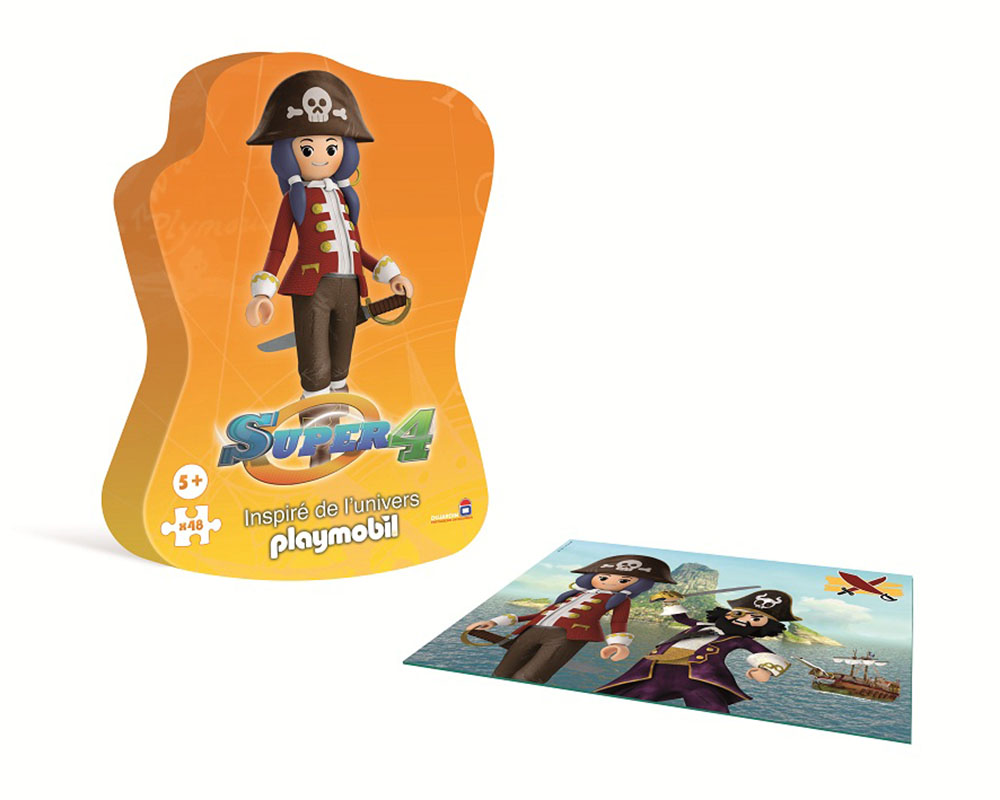 Boite du puzzle Pirate Ruby de Playmobil !